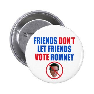 No Romney Button