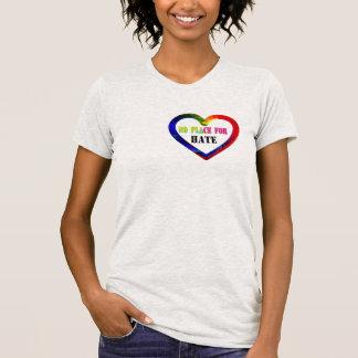 no room for hate love peace harmony shirt