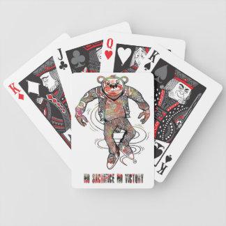 No sacrifice No victory Bicycle Playing Cards