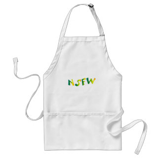 No Safe For Work (NSFW cool breeze) Standard Apron