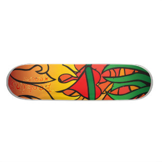 No Salvation Skateboard Deck