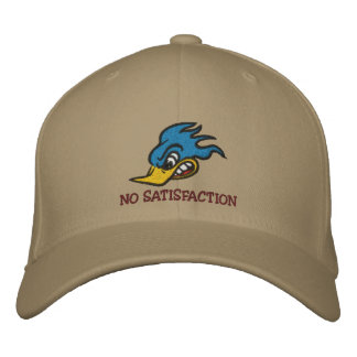 NO SATISFACTION EMBROIDERED HAT
