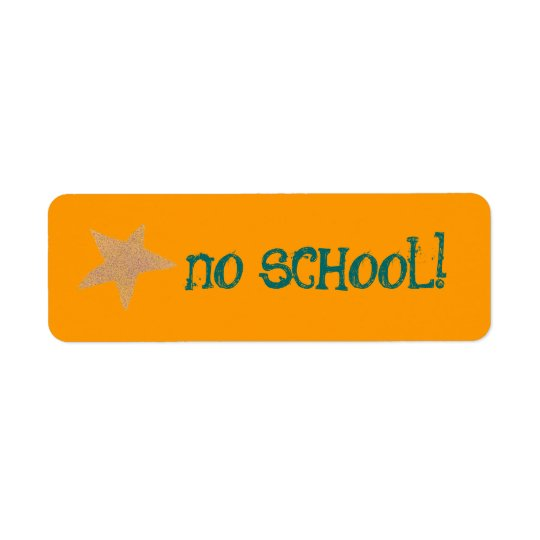 No school label