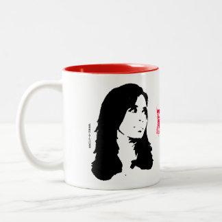 No se hagan los rulos - Taza Two-Tone Coffee Mug