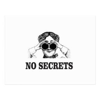 no secrets yeah postcard