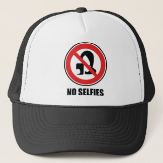 No Selfies Trucker Hat