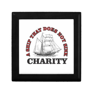 no sink charity small square gift box