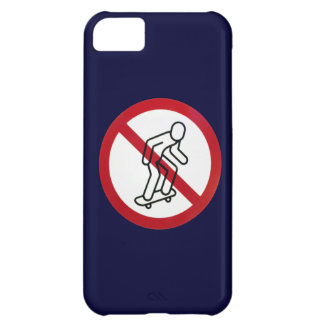 No Skateboarding iPhone5 Case Case For iPhone 5C