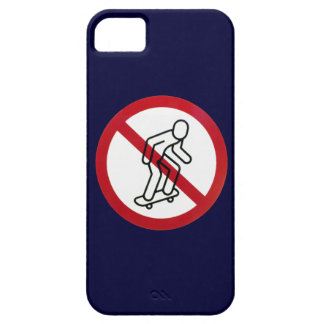 No Skateboarding iPhone5 Case iPhone 5 Cases
