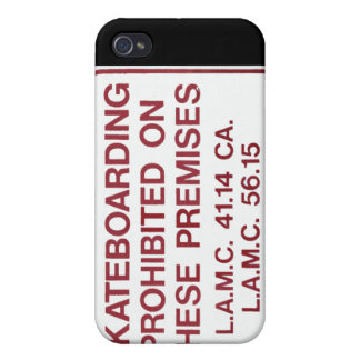 No Skateboarding iPhone case iPhone 4/4S Cover