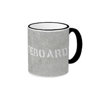 No Skateboarding mug