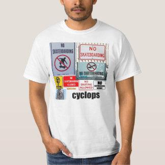 no skating cyclops T-Shirt