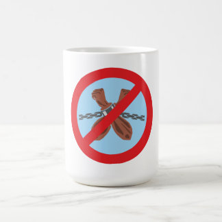 no slavery NO slavery Coffee Mugs