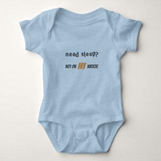 No Sleep Baby Bodysuit