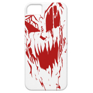 No Sleep - Red on White Halloween iPhone 5 Case
