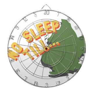 No Sleep Till Dartboard With Darts