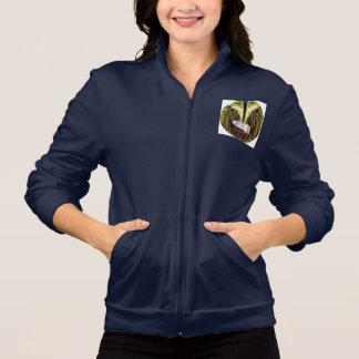 NO SMOKING: AA California Fleece Track Jacket
