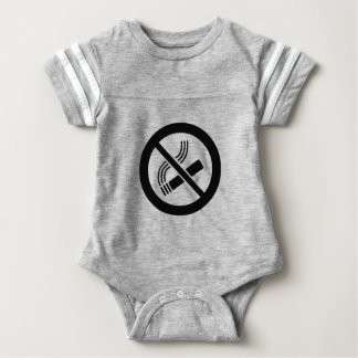 No Smoking Baby Bodysuit