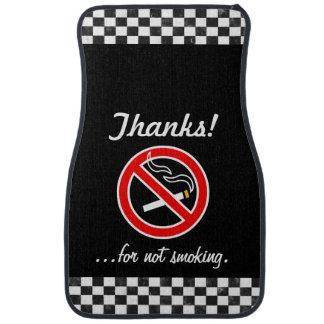 No Smoking Car Mats Car Mat