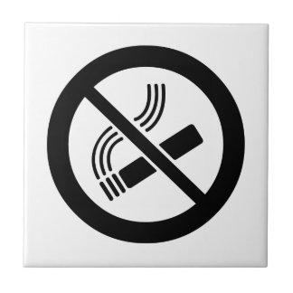 No Smoking Ceramic Tile