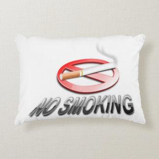 NO SMOKING DECORATIVE CUSHION