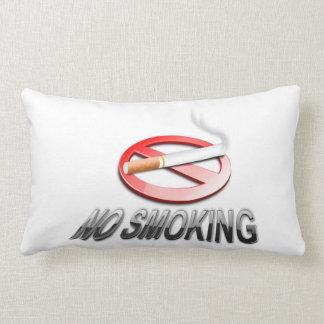 NO SMOKING LUMBAR PILLOW