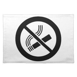No Smoking Placemat