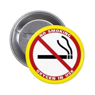 No Smoking Products 6 Cm Round Badge