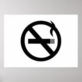 No Smoking Sign Print