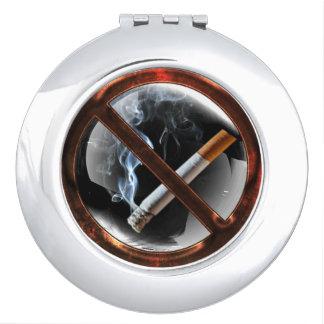 No Smoking Zone Compact Mirrors