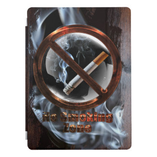 No Smoking Zone iPad Pro Cover