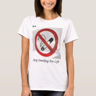 No Smoking Zone Thanks T-Shirt