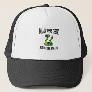 No Snakes with JC Trucker Hat