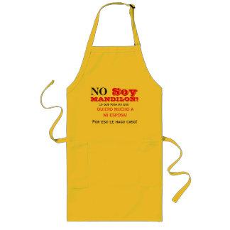 No soy mandilon long apron