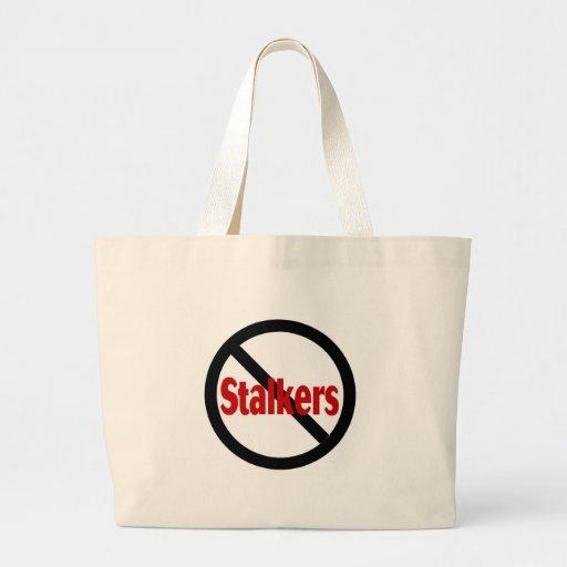 No Stalkers Tote Bag