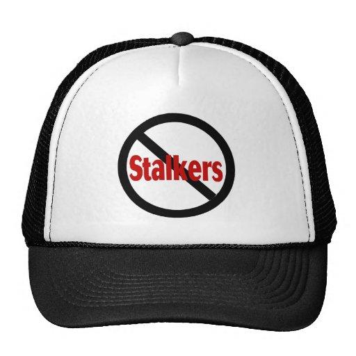 No Stalkers Trucker Hats