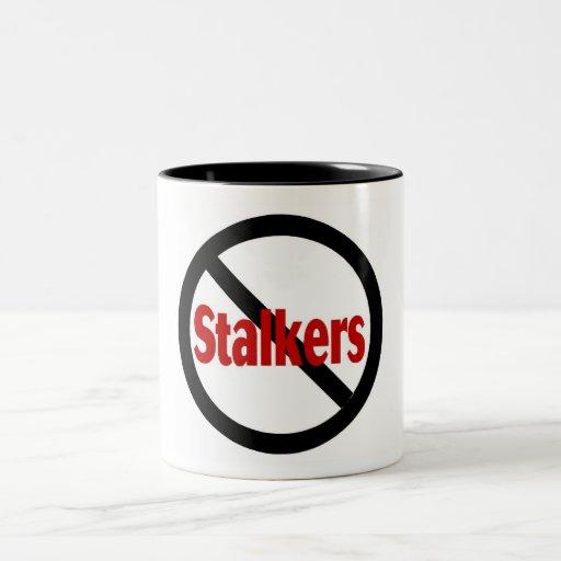 No Stalkers Coffee Mug