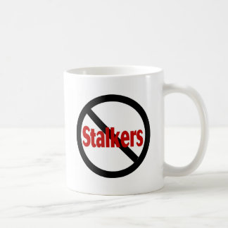 No Stalkers Coffee Mugs