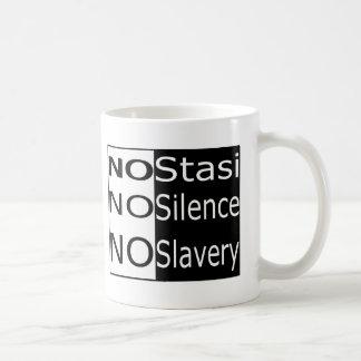 No Stasi, No Silence, No Slavery Coffee Mug
