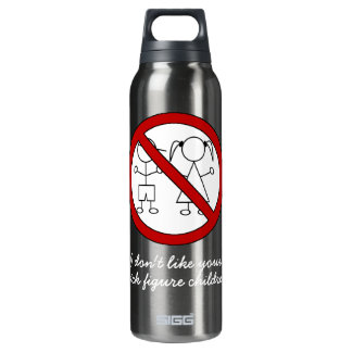 No Stick Figure Kids 0.5L Insulated SIGG Thermos Water Bottle