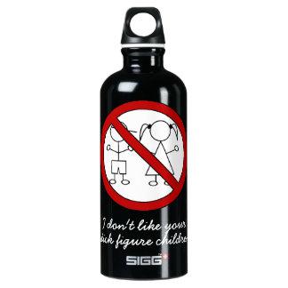 No Stick Figure Kids SIGG Traveller 0.6L Water Bottle
