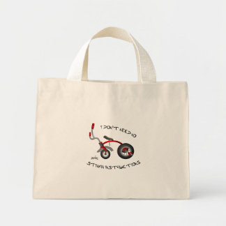 No Stinkin Instructions Tote Tote Bag