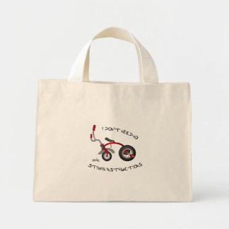 No Stinkin Instructions Tote Mini Tote Bag
