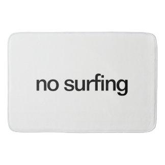 No Surfing Bath Mat