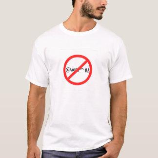 No Swearing T-Shirt