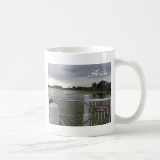 No Swimming Coffee Mug