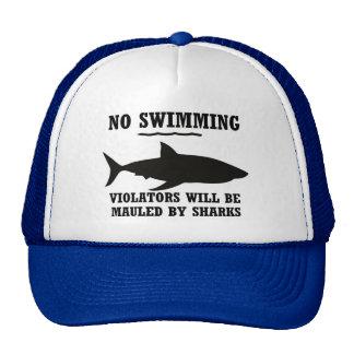 No Swimming Hat