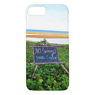 No Swimming, Strong Current iPhone 8/7 Case