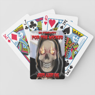 No Sympathy For The Wicked, Playing Cards. Bicycle Playing Cards