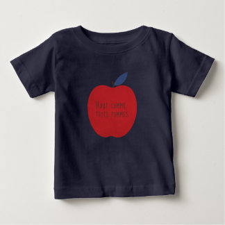 No Taller Than Three Apples Baby T-Shirt